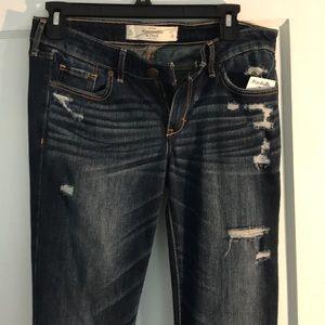 A&F 4L skinny jeans